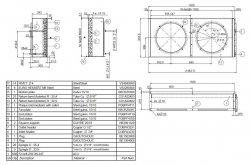 APX-28 Конденсатор LLoyd 28.1 кв (450mm x2)