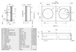 APX-36 Конденсатор LLoyd 35.5 кв (450mm x2)