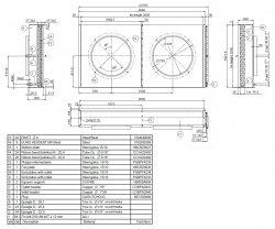 APX-97 Конденсатор LLoyd 97 кв (630mm x2)