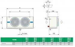 F27HC 28 E 6 Воздухоохладитель Lu-Ve