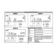 Электронный блок управления Eliwell ID Plus 961 220V
